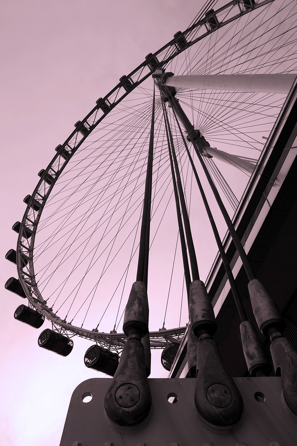 Singapore-Flyer-in-the-evening