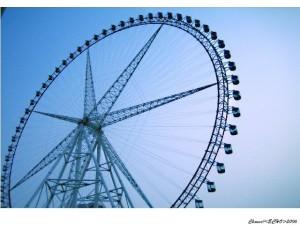 shanghai ferris wheel jinjiang