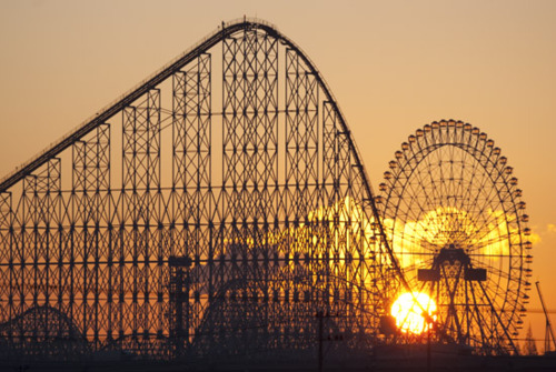aurora wheel at nagashima spa land