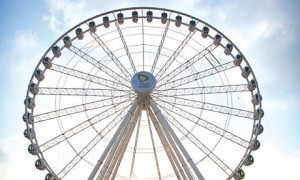 eye of the emirates ferris wheel
