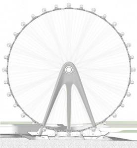 nippon moon observation wheel